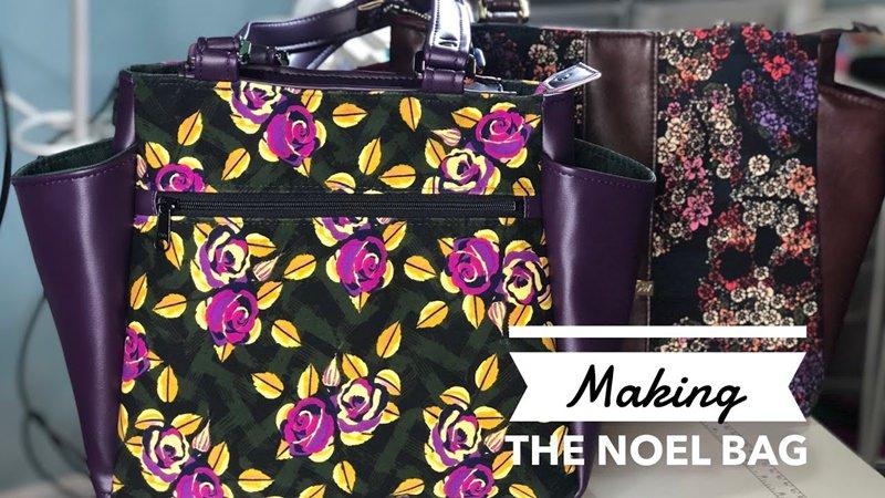Making The Noel Handbag